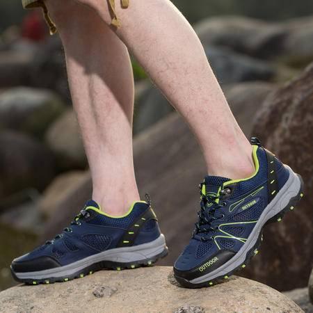 2016春夏季索迈新款情侣鞋户外鞋防水防滑网面透气耐磨登山徒步鞋