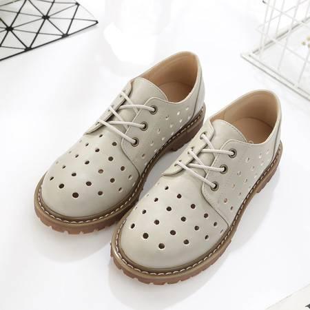 2016年夏季新款休闲鞋韩版时尚透气鞋防滑耐磨洞洞鞋百搭女鞋