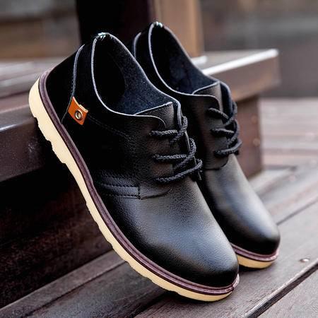 夏季新款韩版板鞋男士休闲皮鞋凉鞋青年英伦潮流男鞋商务透气单鞋