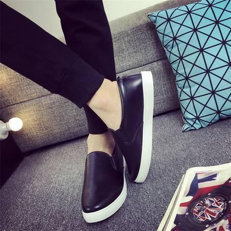春季透气学生帆布鞋单鞋英伦潮鞋韩版潮流男士休闲鞋男鞋子