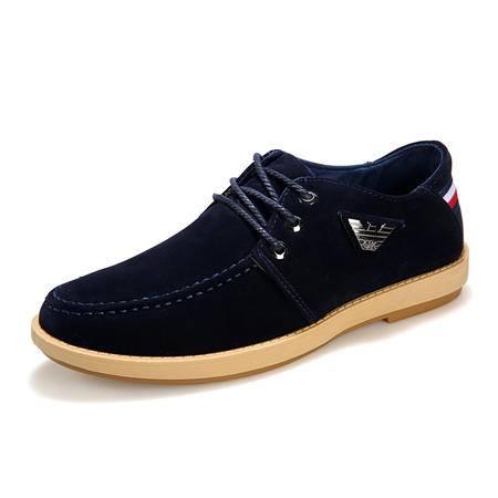 男士休闲鞋皮鞋运动休闲鞋一脚蹬懒人鞋板鞋男鞋潮鞋开车鞋大码