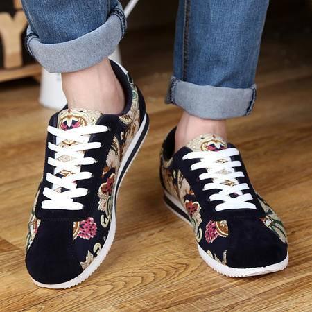 春季男鞋子帆布鞋男士板鞋韩版潮流休闲运动鞋阿甘跑步鞋学生潮鞋