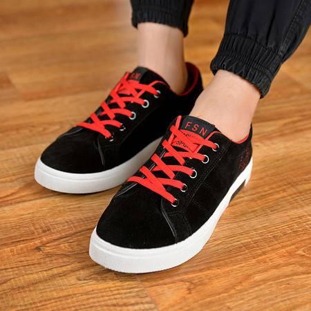 夏季学生跑步潮鞋板鞋运动鞋 透气休闲优质春潮流男鞋子韩版男士