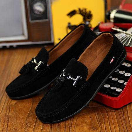 2016春季新款韩版男士豆豆鞋套脚透气鞋男鞋子休闲鞋驾车鞋乐福鞋