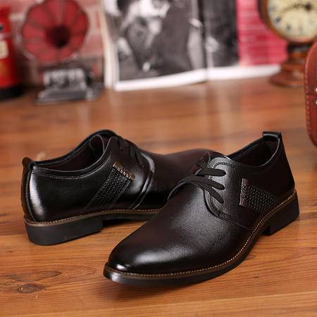 2016新款皮鞋欧洲站宝马男鞋男士商务正装休闲鞋结婚男皮鞋