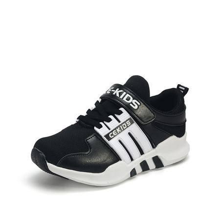 CE2016童鞋秋季新款男童运动鞋机能鞋女童休闲鞋中大童学生跑步鞋