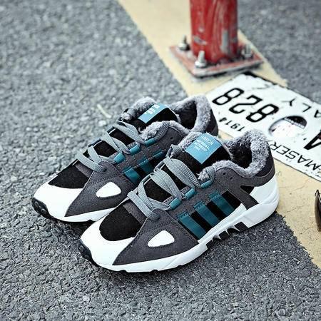 冬季男鞋棉鞋子运动休闲鞋加厚板鞋加绒男鞋韩版东北保暖二棉鞋潮
