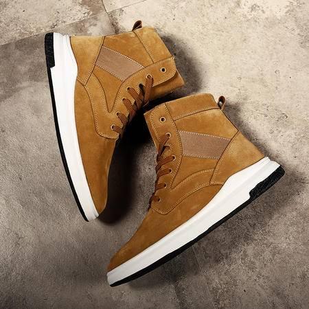 冬季加绒保暖棉鞋加棉高帮靴潮流棉靴