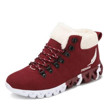 冬季新款男士时尚潮流经典保暖棉鞋学生运动休闲潮鞋