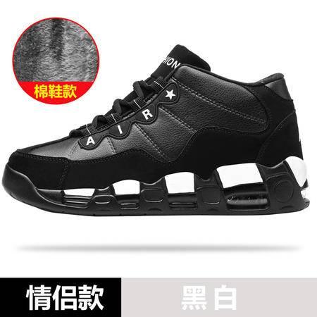 2016秋季加绒跑步鞋女韩版运动鞋男潮鞋子男士运动棉鞋休闲鞋男鞋