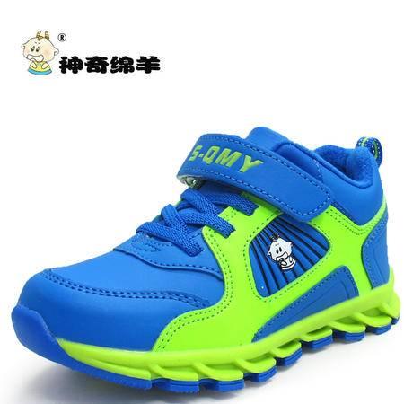 时尚童鞋新款童鞋儿童鞋男童棉鞋保暖二棉女童鞋休闲鞋防滑运动鞋
