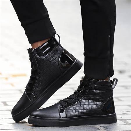 冬季加绒保暖男鞋二棉鞋男男士休闲鞋潮鞋子高帮鞋皮鞋板鞋运动鞋