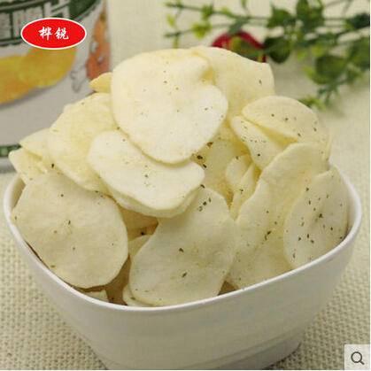 休闲零食美味马铃薯脆片精美袋装50g黄瓜味