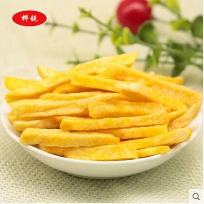 休闲零食美味新鲜甘薯脆条精美袋装 (原味)50g