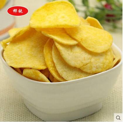 休闲零食 美味新鲜甘薯脆片 精美袋装 (原味) 50g
