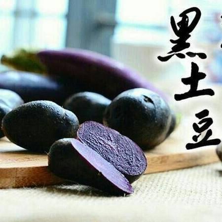 胡家坳  巫山黑土豆(黑洋芋、马铃薯) 10斤装 包邮
