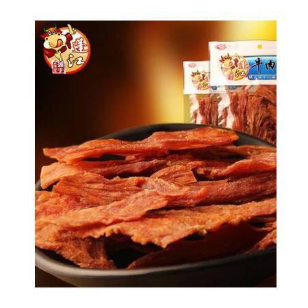 阿蓬江广味牛肉脯片超干牛肉重庆特产零食休闲小吃纯牛肉干120g