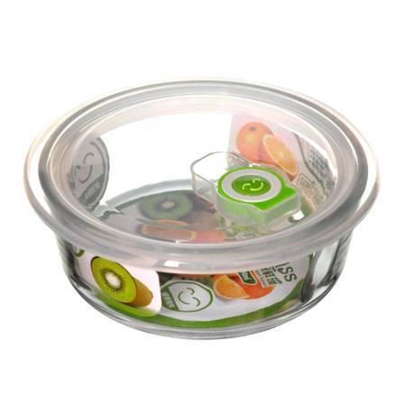 海客H2201-2钢化玻璃保鲜碗(650ML)(限团购)