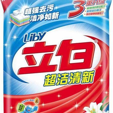 立白超洁清新洗衣粉455G