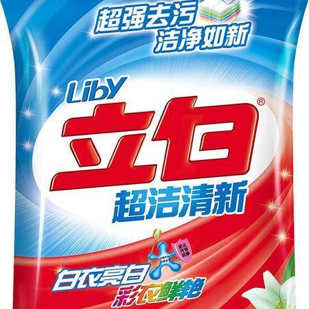 立白超洁清新洗衣粉1.068KG