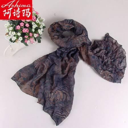 下单立减 阿诗玛  新款围巾韩版女披肩春秋长款雪纺丝巾 ASM010