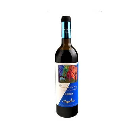禾韵蓝莓鲜果酒7°双支礼盒