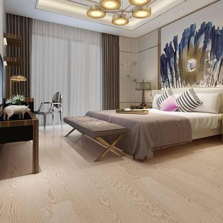 欣润家多层实木地板AQ8173H天堂之舞橡木 15mm拉丝多层实木地板