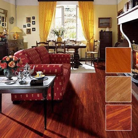 欣润家地板 强化复合木地板HG31系列高光亮面耐磨地暖防水地板