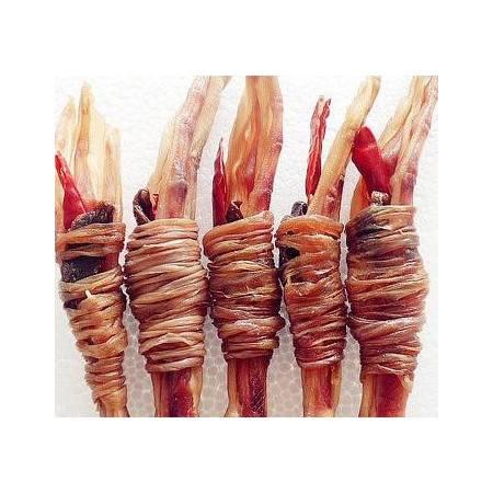 广德馆 单肠单心鸭脚包宣城鸭脚包 安徽特产水阳三宝鸭肠包爪掌心舌尖上的美食 徽风印象