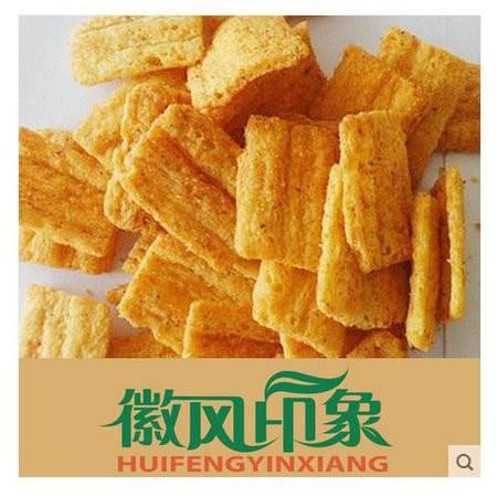 广德馆 玉米锅巴 麻辣味牛肉味 安徽特产 零食 徽风印象250g