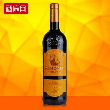 龙船庄园珍藏波尔多干红葡萄酒 法国进口750ml红酒