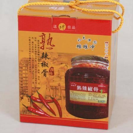 广西特产 隆林熟辣椒骨