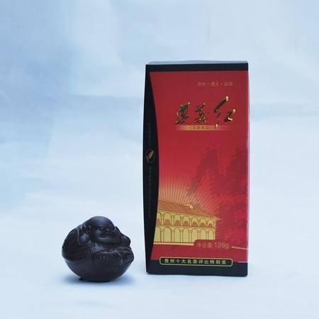 栗香茶业 遵义红茶二级 126g盒装