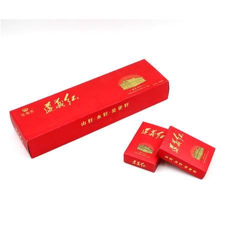 琦福苑 精品红茶 贵州遵义红 特级功夫红茶 高原茶烟条装120g