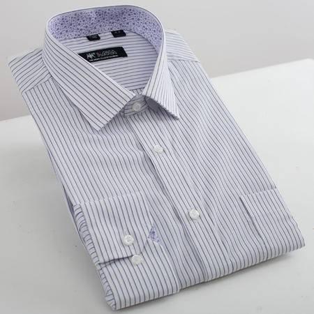 开开男士商务全棉长袖衬衫SYT3-5301