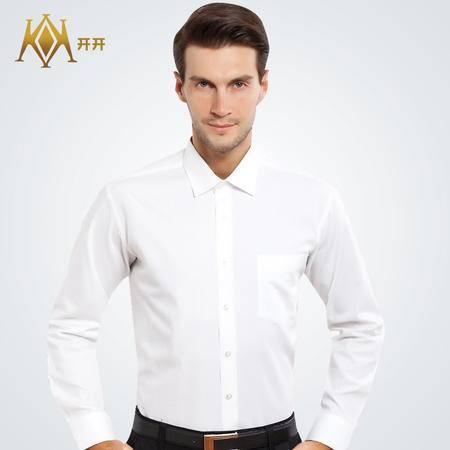 开开男士纯棉长袖衬衫SWWL3-5001 SWWL3-5002