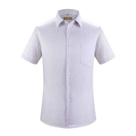 开开男士短袖纯棉衬衫SWB3-6603 SWB3-6604