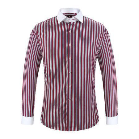 开开纯棉长袖衬衫CSA3-4302