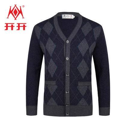 开开男士羊毛开衫ODW163802