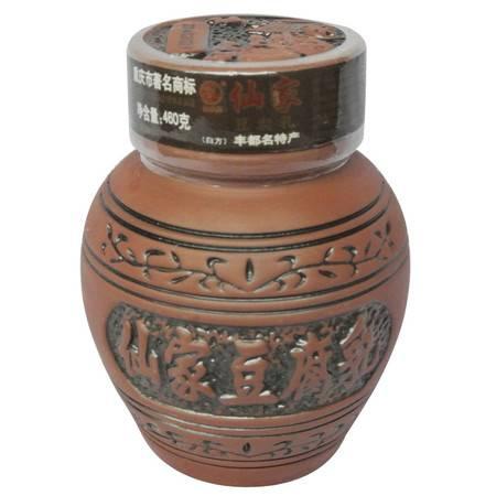 丰都鬼城特产 仙家紫砂单罐豆腐乳 460g/罐