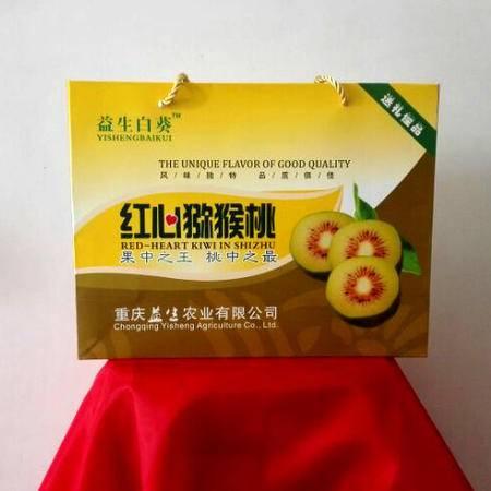 石柱特产 益生百葵精品红心弥猴桃4000g