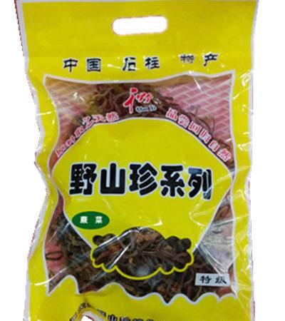 石柱特产 千野蕨菜(袋装)200g
