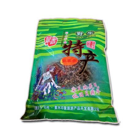 石柱特产 黄水印象虫草参(袋装)400g