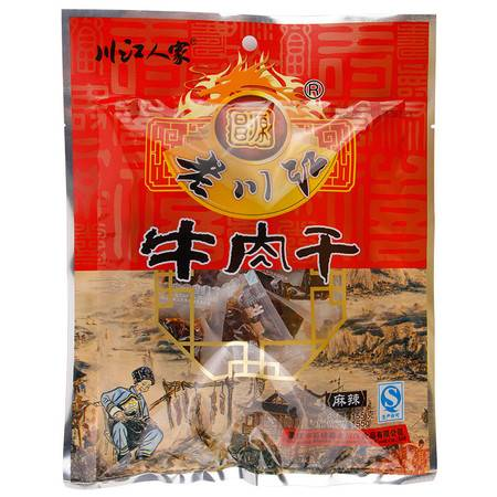 石柱特产 老川江麻辣牛肉干 155g