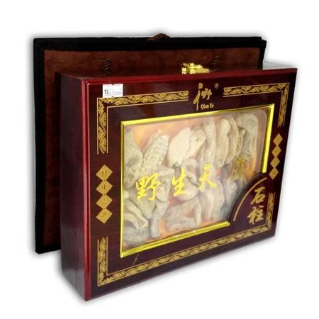 石柱特产 千野野生天麻(特级木盒)250克