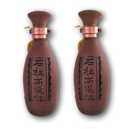 石柱特产  秦良玉 50度石柱高粱红酒 500ml