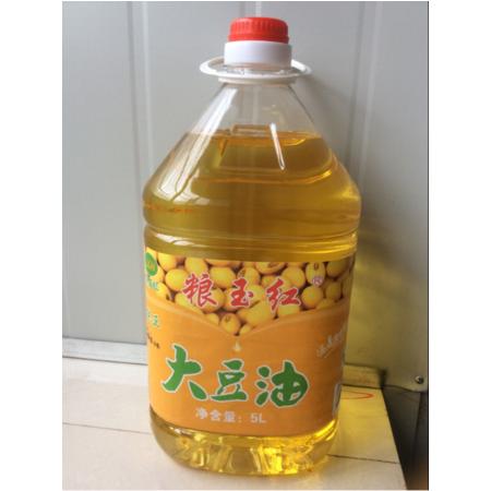 石柱特产 粮玉红5L大豆油