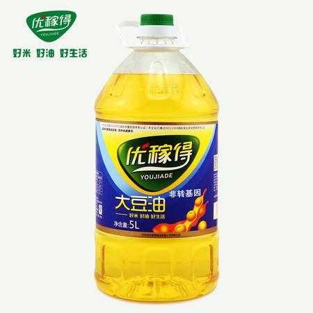 优稼得 大豆油非转基因一级 东北特产 5L
