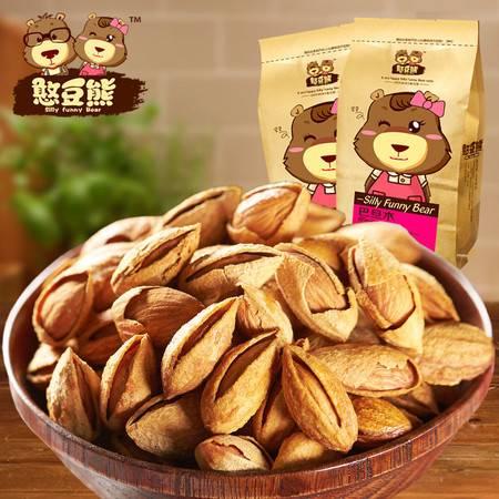 巴旦木 坚果干果休闲零食 特产薄壳扁桃仁新货食品208g*2