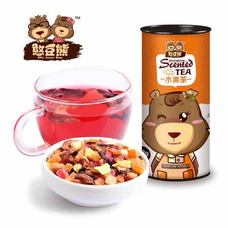【憨豆熊_水果茶】花果茶 花草茶花茶果茶 果味茶98g*2